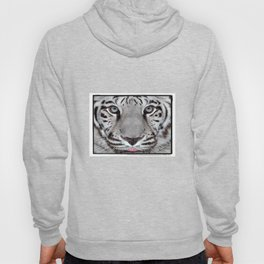 White Tiger with a little tougue Hoody