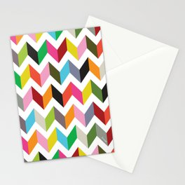 Ziggy chevron Stationery Cards