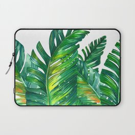 tropical green 2 Laptop Sleeve
