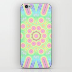 flower candy power iPhone & iPod Skin