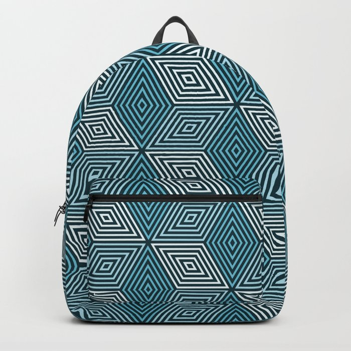 Op Art 37 Backpack