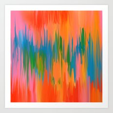 Smudge II Art Print