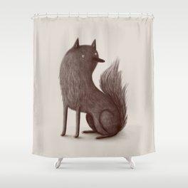 Wolfie Shower Curtain