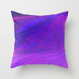 Plasma_Planet Throw Pillow