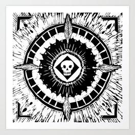 Tenochzitza's Mandala Art Print