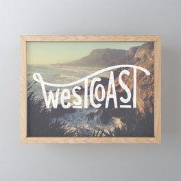 West Coast NZ Framed Mini Art Print