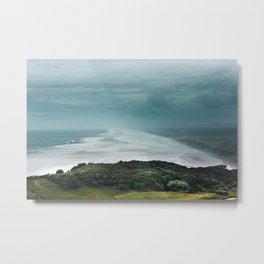 Muriwai Beach, NZ Metal Print