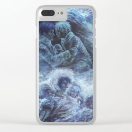Left hand of darkness Clear iPhone Case