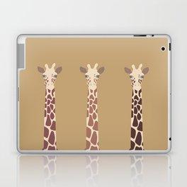 Triple Giraffes Laptop & iPad Skin