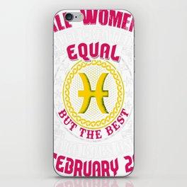 Best-Women-Born-On-February-26-Pisces---Sao-chép iPhone Skin