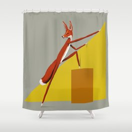Fox is leaving Shower Curtain