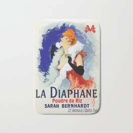 La Diaphane Sarah Bernhardt Bath Mat
