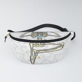 Yoga skeleton Best Gift Fanny Pack