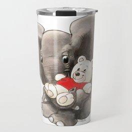 Baby Boo with Teddy Travel Mug