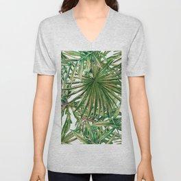 Jungle Leaves Unisex V-Neck