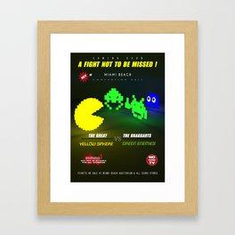 Fight ! Framed Art Print