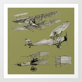 airplanes5 Art Print