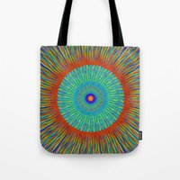 kaleidoscope Tote Bags featuring Kaleidoscope  by Patterns