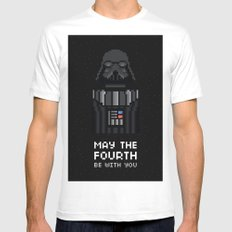 May The Fourth Mens Fitted Tee White MEDIUM