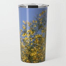 Golden Beams of Palo Brea Tree Travel Mug