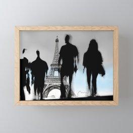 Les Parisiennes Framed Mini Art Print
