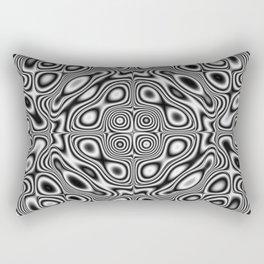 Abstract kaleidoscopic pattern Rectangular Pillow