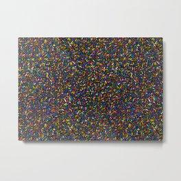 Jimmies vs. Sprinkles? Metal Print
