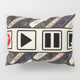 PLAY/PAUSE Pillow Sham