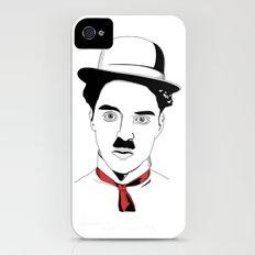 Charlie Chaplin iPhone (4, 4s) Slim Case