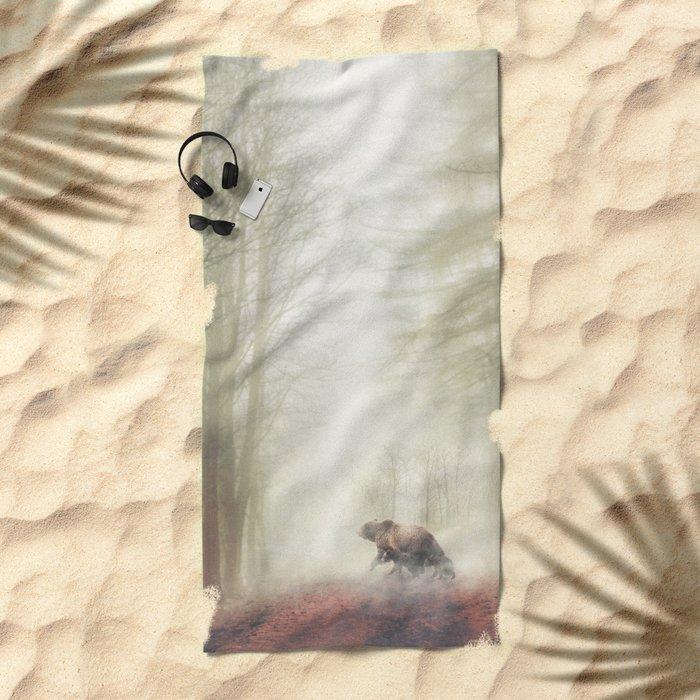 Follow Me Beach Towel