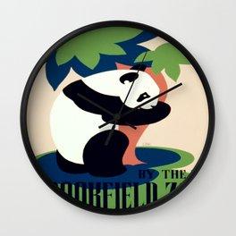 Vintage poster - Brookfield Zoo Wall Clock