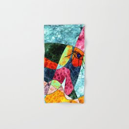 The laughing horse Hand & Bath Towel