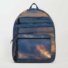Northside Clouds at Sunset Backpack