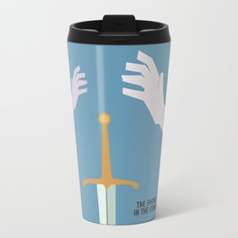 The Sword in the Stone - Movie Poster - Penguin Book version Travel Mug