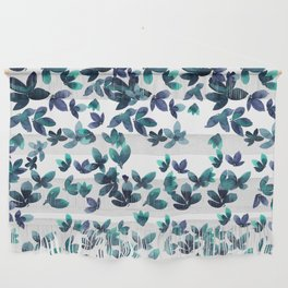 Born to Butterfly - Teal and Navy Palette Wall Hanging