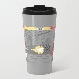 The Final Battle Metal Travel Mug