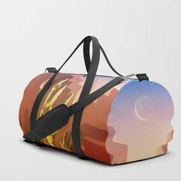 Mid-Century Arizona Amber Rose House Duffle Bag