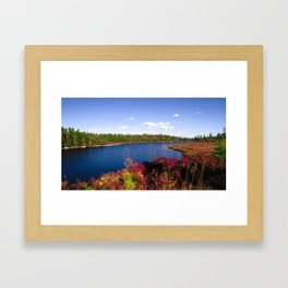 Lake in Halifax Framed Art Print