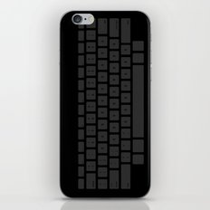 Captain's Keyboard iPhone Skin