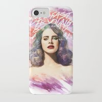 ultraviolence iPhone & iPod Cases featuring belrays by evenstarss