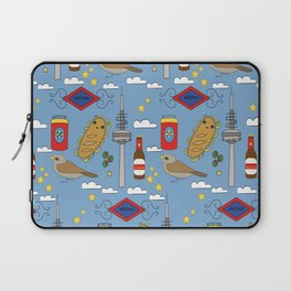 Madrid Pattern Laptop Sleeve
