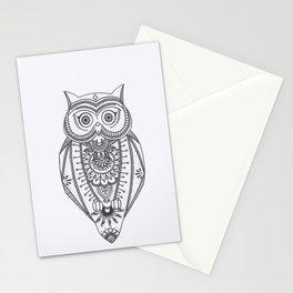 O W L - B&W Stationery Cards
