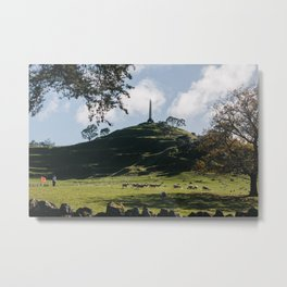 One Tree Hill in Auckland Metal Print