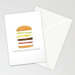 Everything Will Fall into Place Stationery Cards