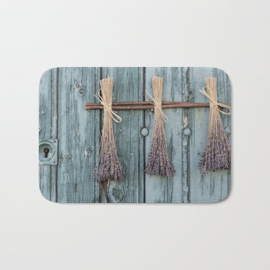 Lavender - Summer Provence purple Flower Flowers my love #Society6 Bath Mat