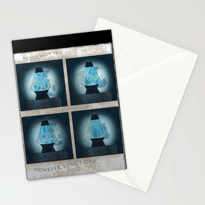 A Moment in Time (Blue) Stationery Cards