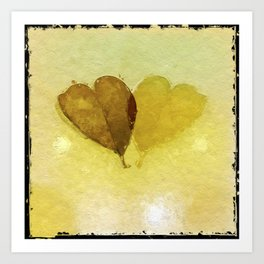 Echoing Love Art Print