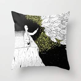 Shoals Of Fish Throw Pillow