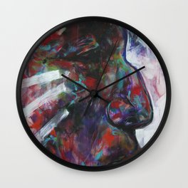 Freedom Calls (Wolf Robe) Indian Native American Wall Clock