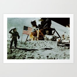 Apollo 11 Art Print